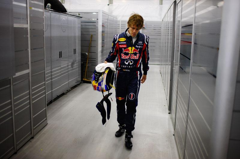 Sebastian Vettel: primeira derrota de 2011