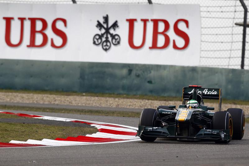 Kovalainen superou uma Williams e uma Sauber no GP da China