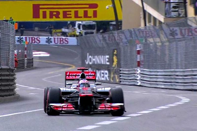 Jenson Button em Mônaco