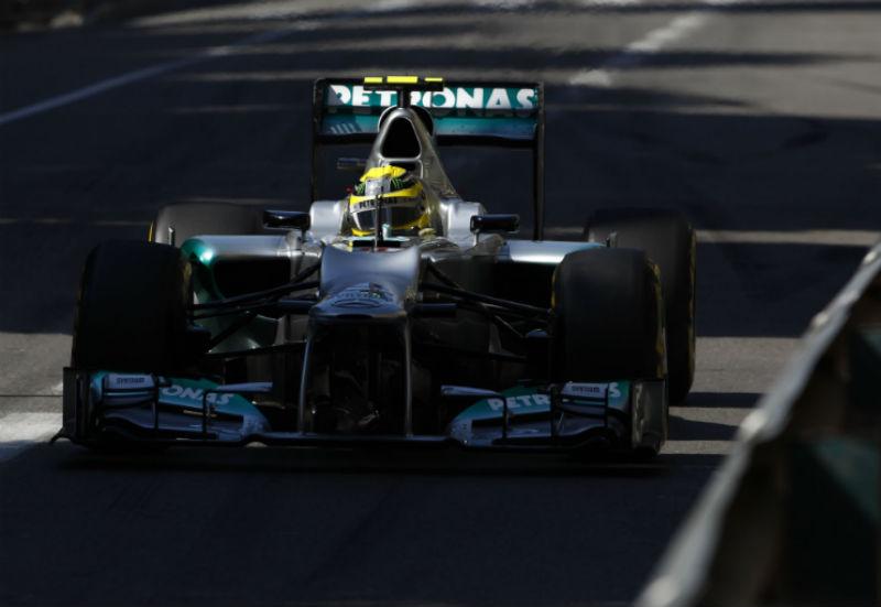 Rosberg foi o mais rápido na terceira sessão de livres
