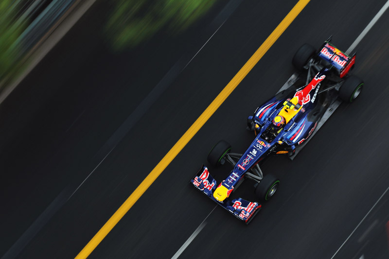 Webber empatou com Vettel no Mundial