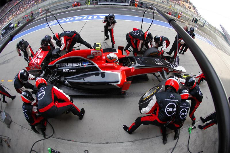 GP da China somou 54 paradas para troca de pneus