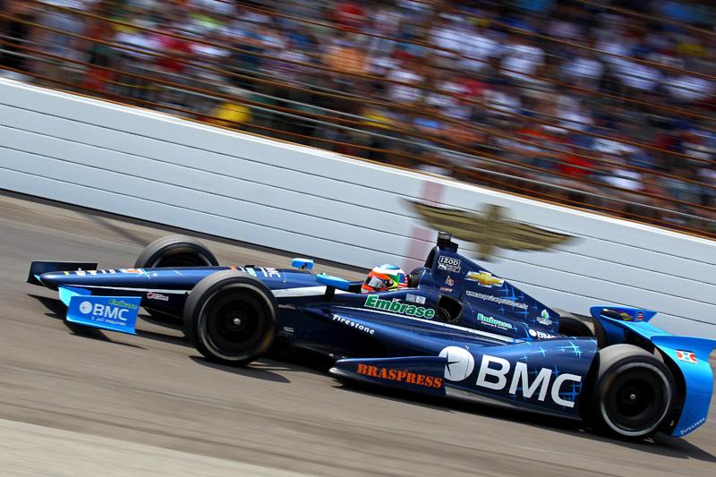 Rubens Barrichello: melhor estreante na Indy 500 de 2012