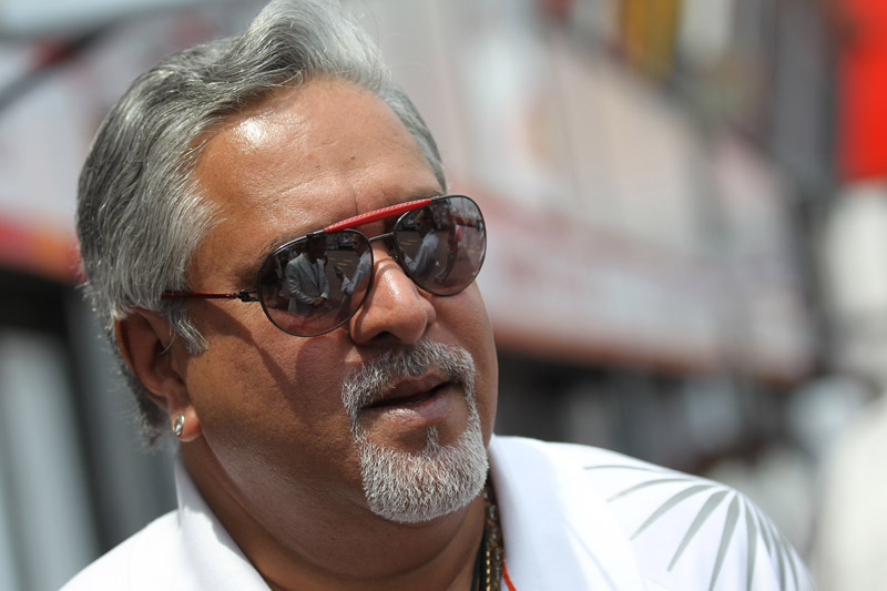 O dono da Force India, Vijay Mallya