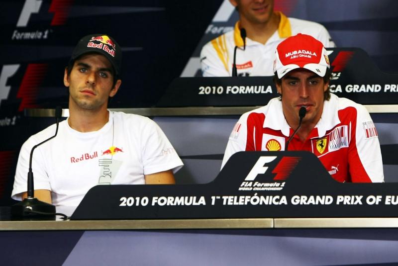 Alguersuari e Alonso dividiram as pistas por dois anos e meio
