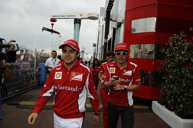 Massa e Alonso