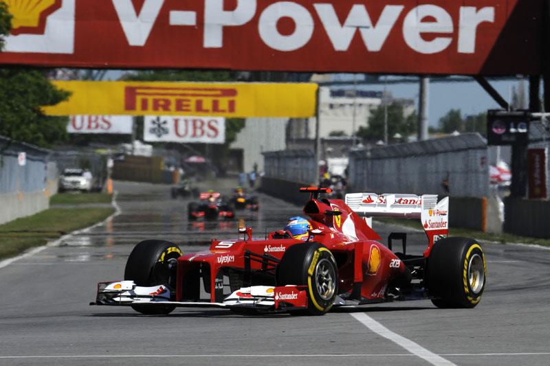 Alonso completou no Canadá um ano inteiro nos pontos