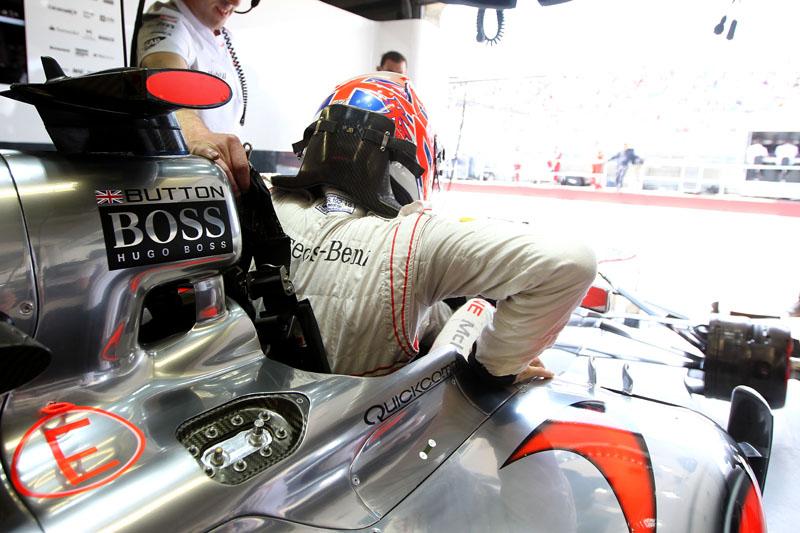 Button é oitavo no Mundial, a 43 pontos de Hamilton