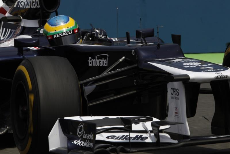 Bruno Senna minimiza prejuízo e é 10º