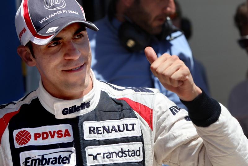 Maldonado largou em terceiro em Valência