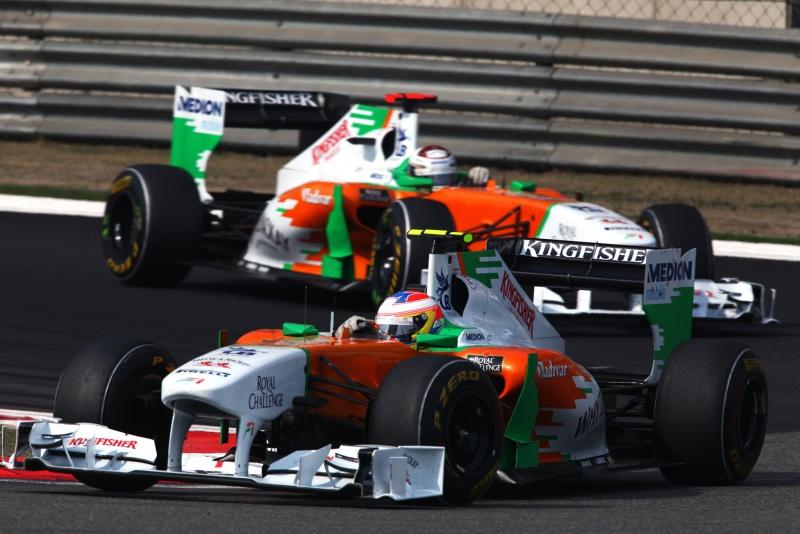 Andar próximos um do outro: o segredo da Force India, de acordo com Sutil