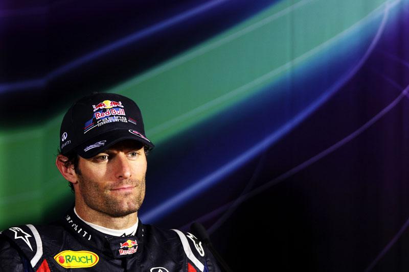 Webber é o quarto colocado no campeonato