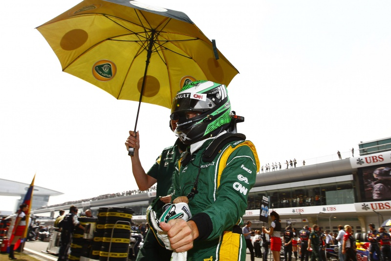 Kovalainen está satisfeito com progresso da Lotus