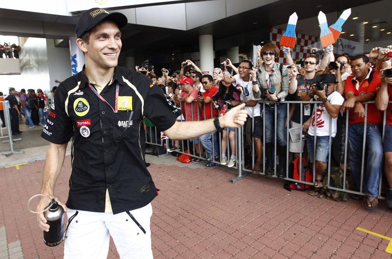 Petrov é atualmente o sétimo colocado na tabela de classificação