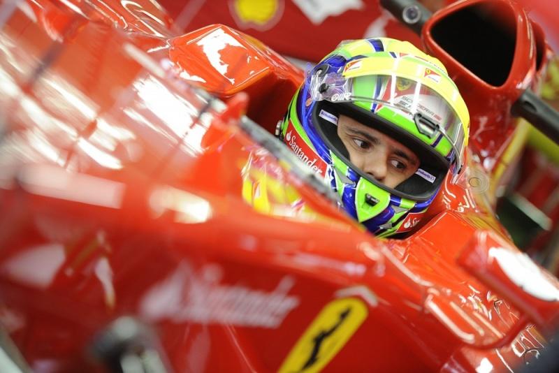 Felipe se envolveu em acidente na largada