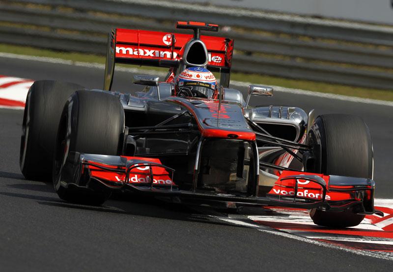 Button em Hungaroring