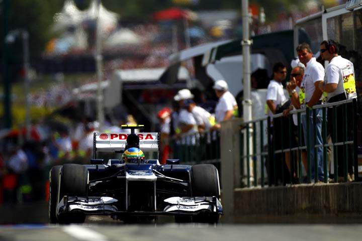 Bruno Senna: boa corrida e seis pontos em Hungaroring