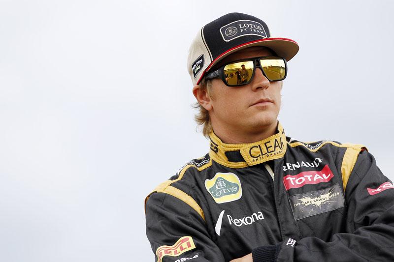 Raikkonen é quinto no mundial