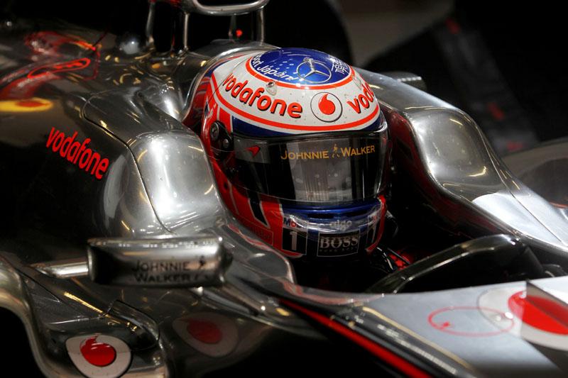 Button: 0s065 mais veloz que Rosberg no único treino em pista seca