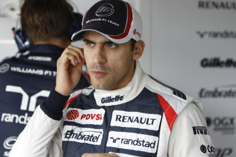 Maldonado tem escutado os conselhos de Wurz