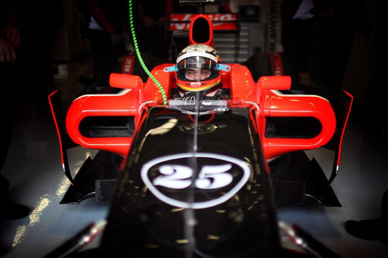 D'Ambrosio: o número 1 da Marussia Virgin nesta sexta