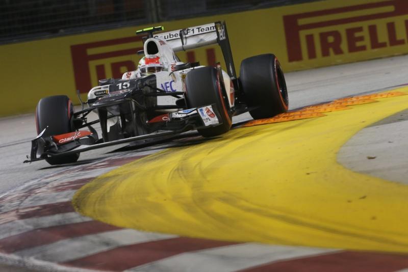 Pérez terminou em 10º
