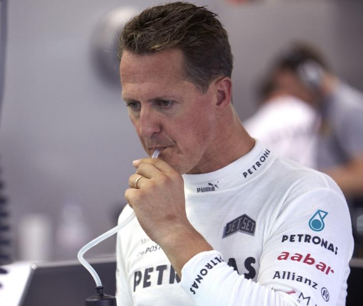 Schumacher em Cingapura
