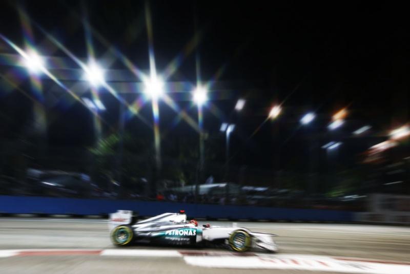 Todos os focos em Schumacher