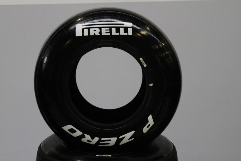 O composto médio de pneus ainda não foi utilizado nesta temporada
