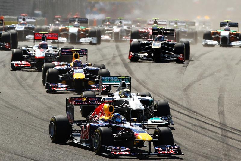 Largada do GP turco: