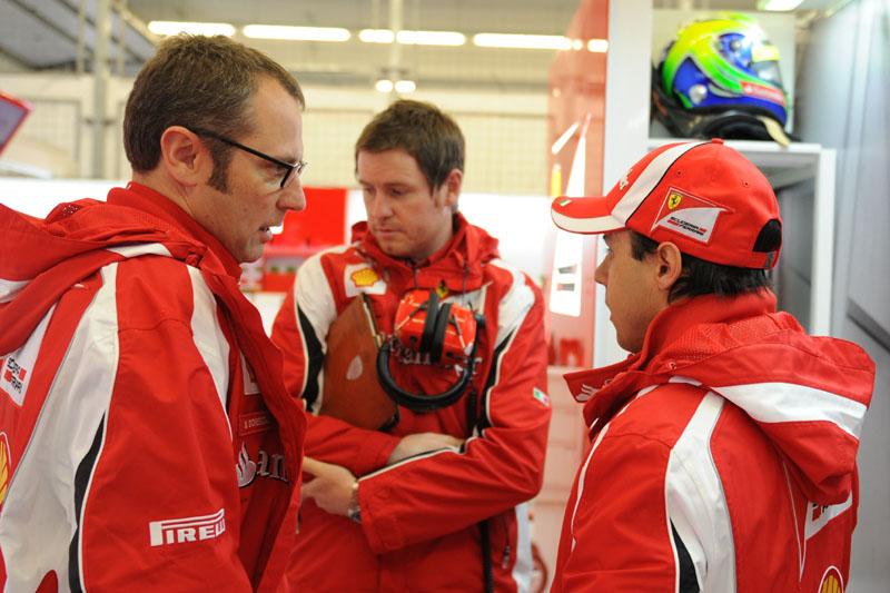 Domenicali em nenhum momento falou de erro da Ferrari