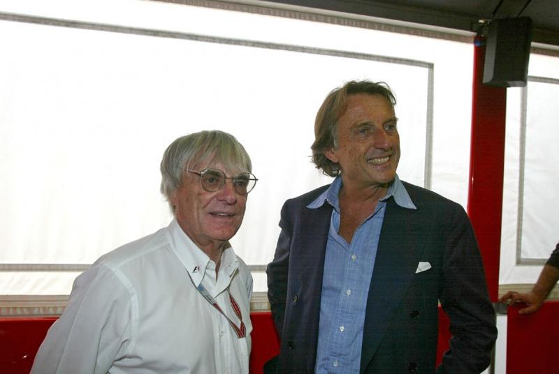 Bernie e Montezemolo: