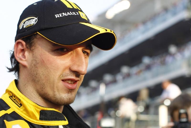 Kubica, quando estava na F1