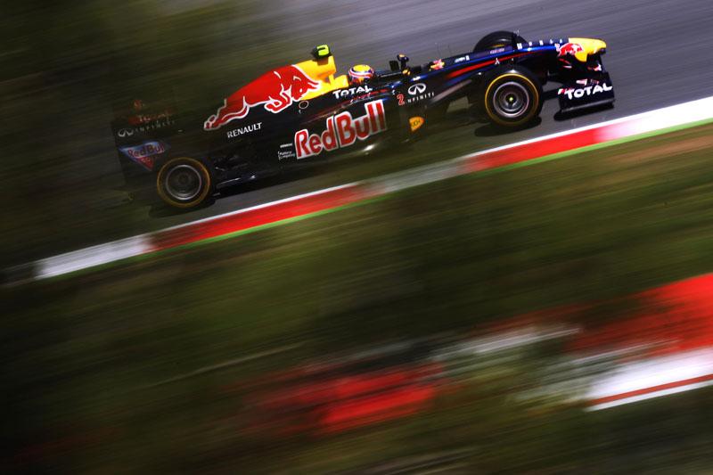 Mark Webber mostrou ter intimidade com a pista de Barcelona