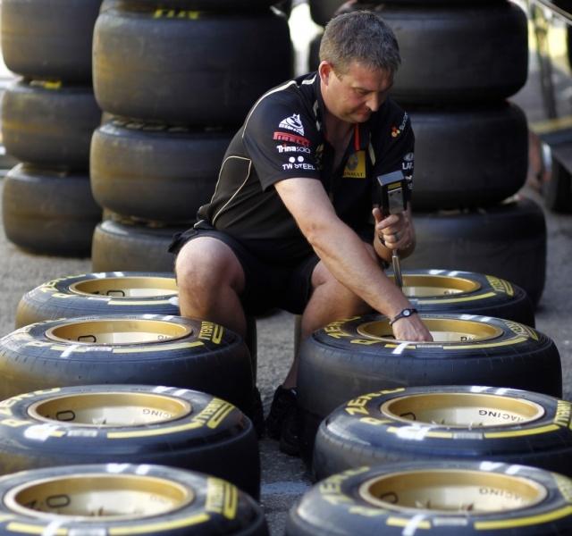O quebra-cabeça dos pneus está em jogo novamente
