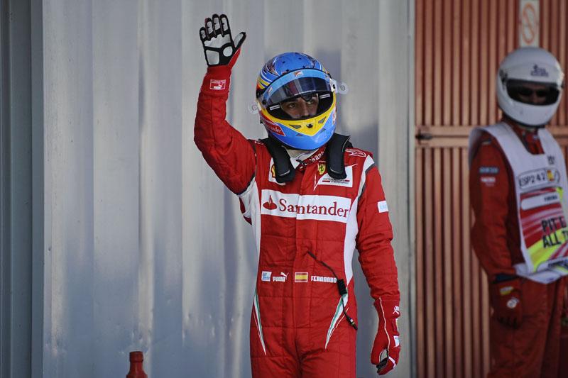 O quarto lugar na Espanha é a melhor posição de largada da Ferrari no ano