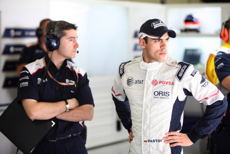 Pastor Maldonado levou a Williams ao nono lugar