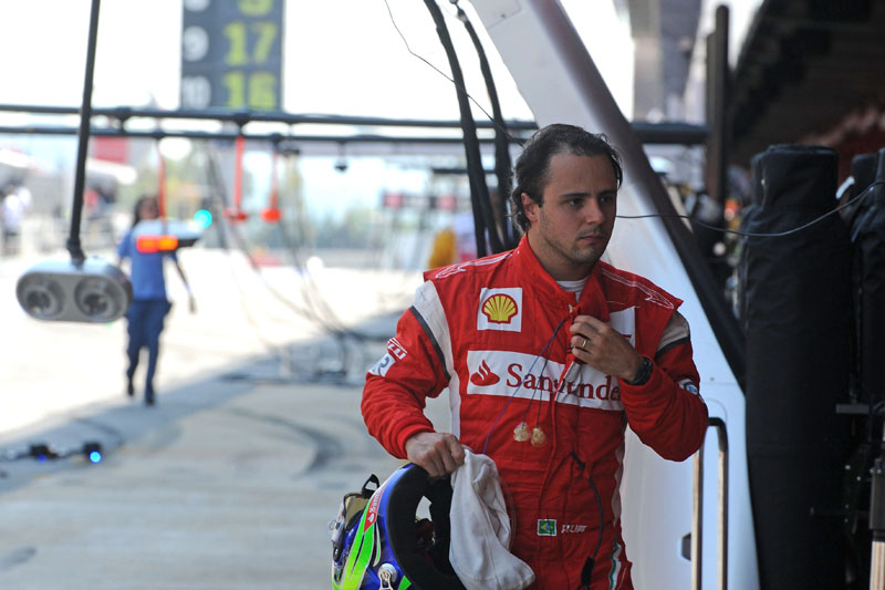 Massa teve seu primeiro abandono do ano