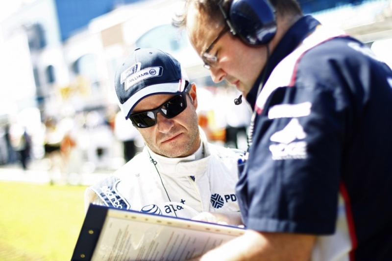 Barrichello e equipe: perdidos neste início de temporada