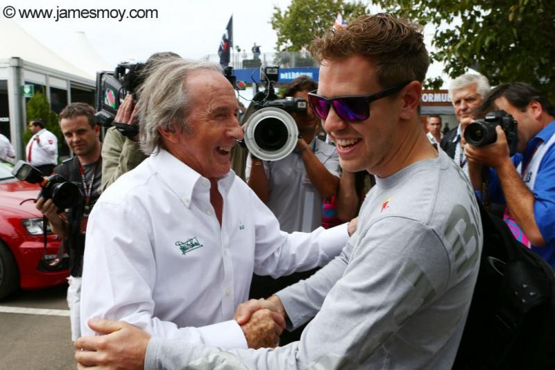 Stewart e Vettel na Austrália