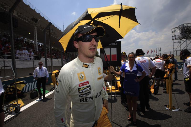 Kubica sofreu acidente de rali em fevereiro