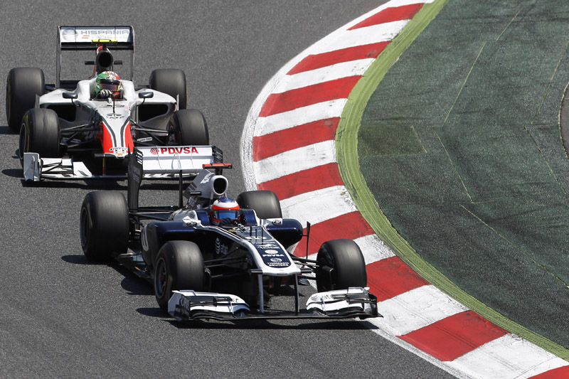 Barrichello: nova rotina é disputar contra a Hispania