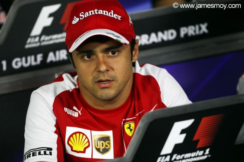 Massa foi o mais rápido na 1ª sessão em Sakhir