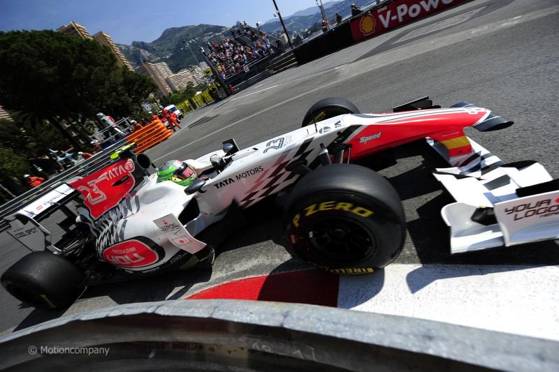 Liuzzi em Mônaco com F111