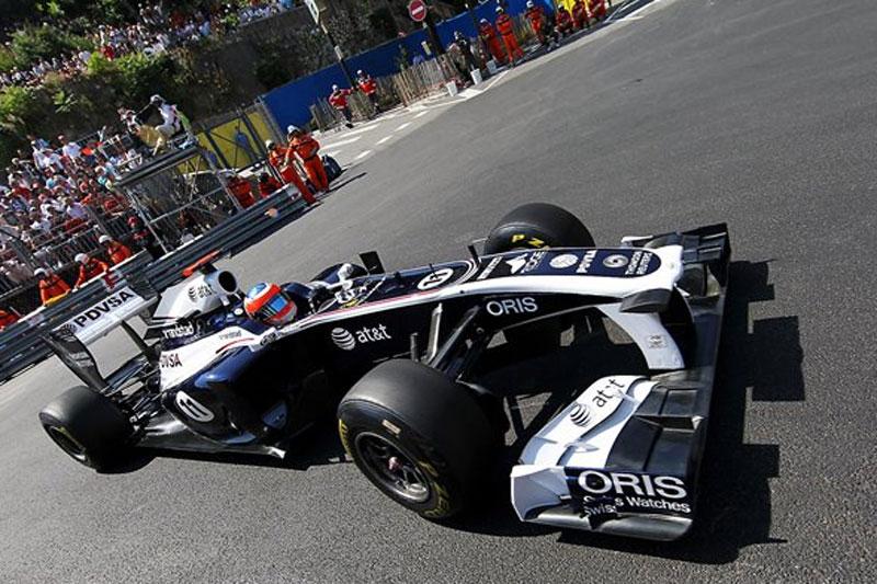 Rubens Barrichello em Mônaco
