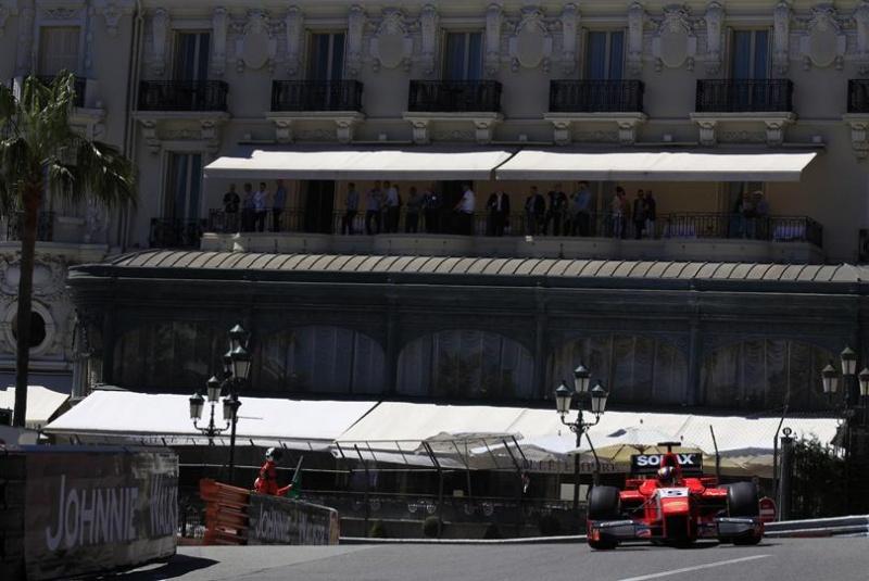 Esta foi a segunda pole de Ceccoto na GP2