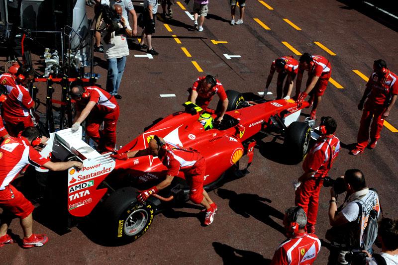 Massa: terceira fila em Mônaco