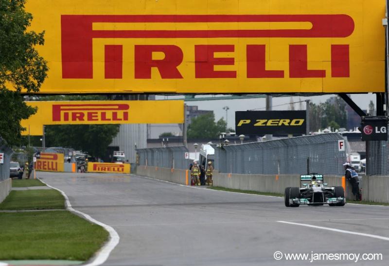 Rosberg treina em Montreal