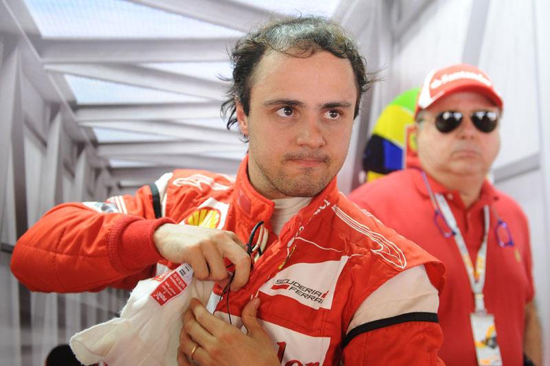 Massa é o oitavo colocado no campeonato
