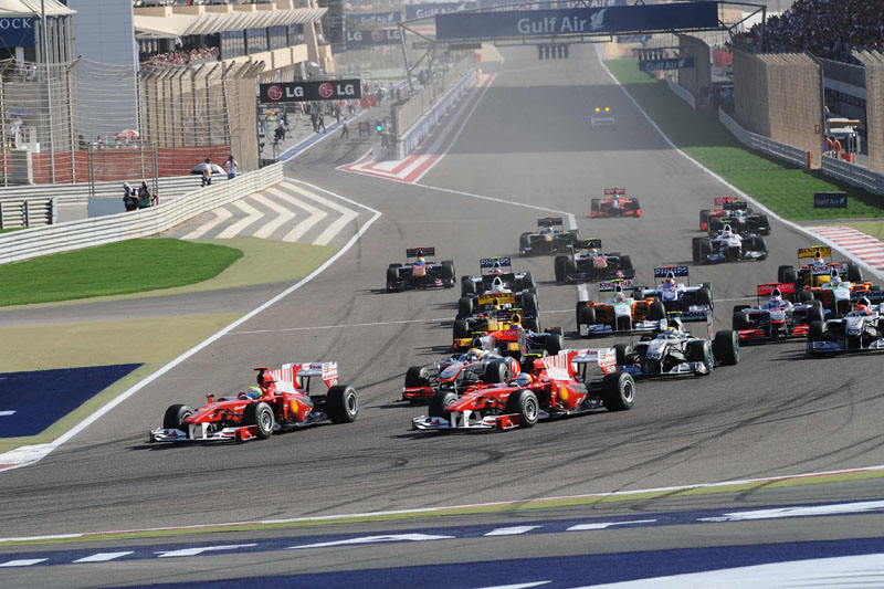 O GP do Bahrein já teve sete edições, desde 2004